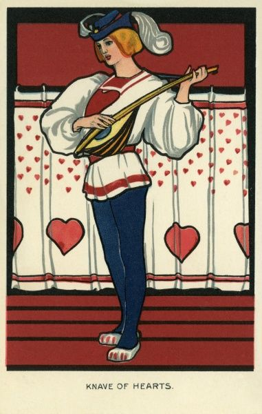 Knave of Hearts. Illustrator Anon. Date: 1904
