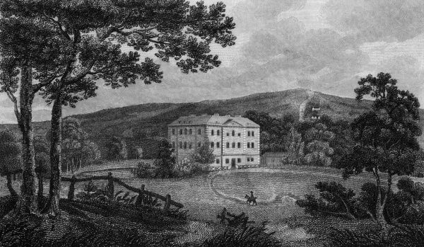 Knight's Hill, West Norwood, near Dulwich, the home of Lord Thurlow Date: 1805