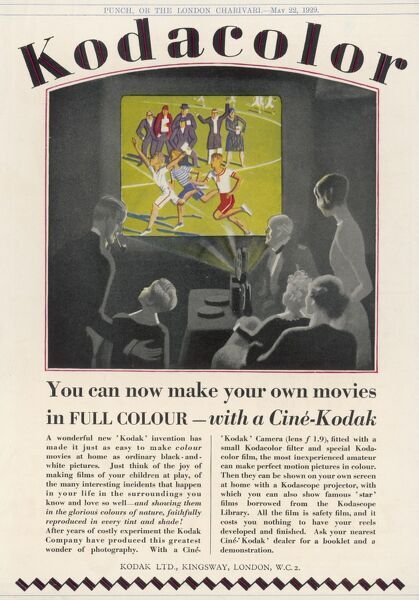 'You can make your own movies in FULL COLOUR - with a Cine- Kodak&#39