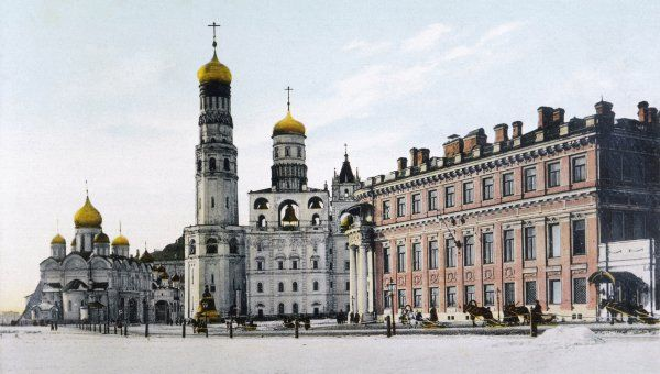 The Place Imperiale in the Kremlin