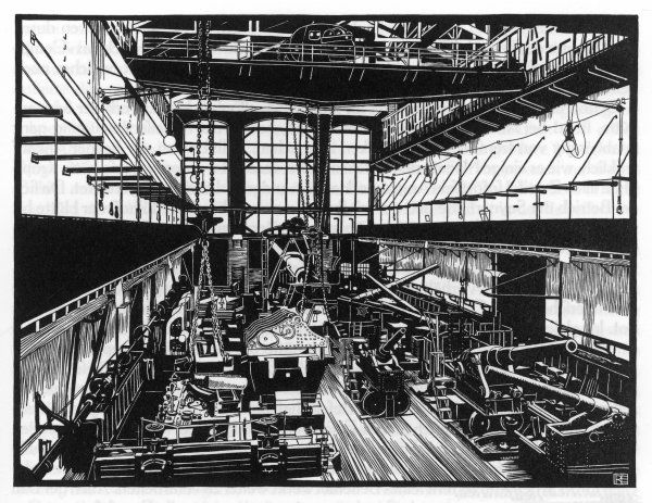 Krupp's factory in Essen: machine shop IV