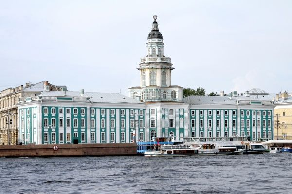 The Kunstkammer which houses the Peter the Great Museum of Anthropology and Ethnography in St. Petersburg, Russia circa 2008