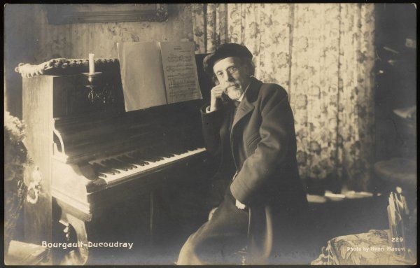 LOUIS-ALBERT BOURGAULT-DUCOUDRAY French composer and musicologist