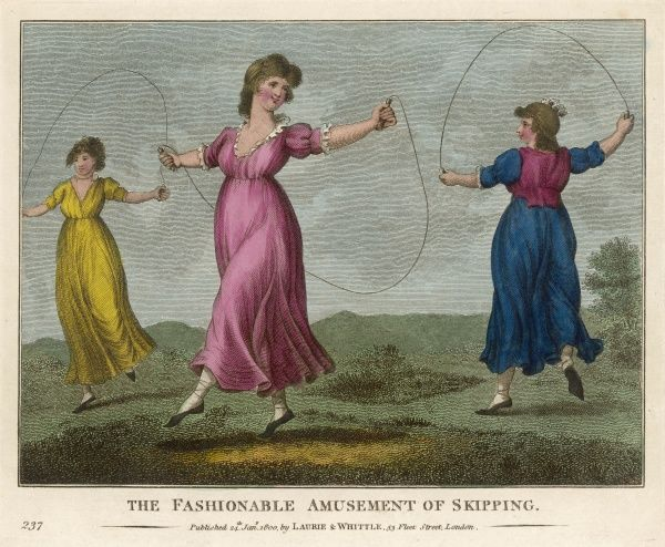 'The Fashionable Amusement of Skipping&#39