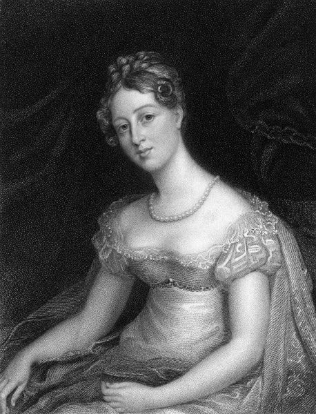LADY ANNE BECKETT (nee Lowther) wife of sir John Beckett Date: ? - 1871