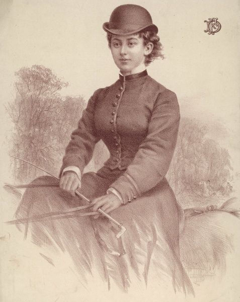 LADY FLORENCE DIXIE traveller, author and equestrienne