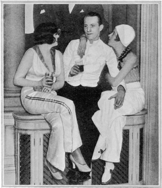 Lady Mercy with Denis and Elizabeth Pelly at a party hosted by the Countess de Boasdari and Monica Morris