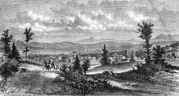 A popular resort in New Hampshire. Date: 1874