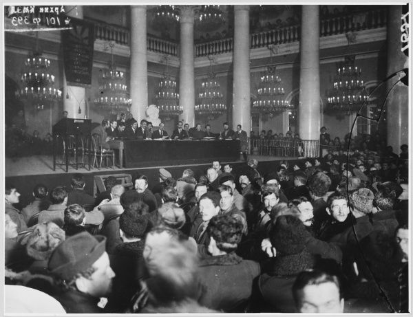 The first All-Russian Congress of Land is held at the House of the Unions, Moscow