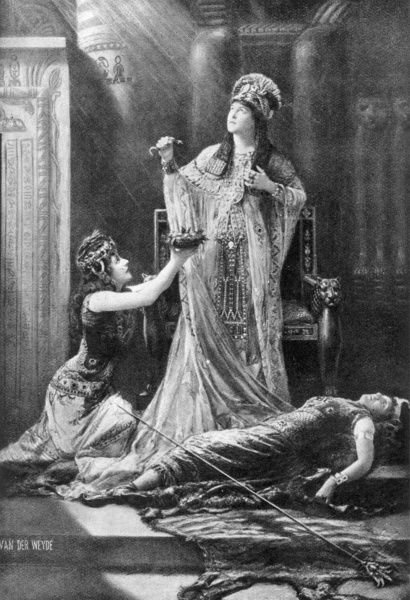LILY LANGTRY English actress in the roll of Cleopatra in Shakespeare's Anthony and Cleopatra