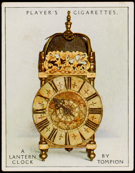 Lantern clock by Thomas Tompion, the father of English clock-making