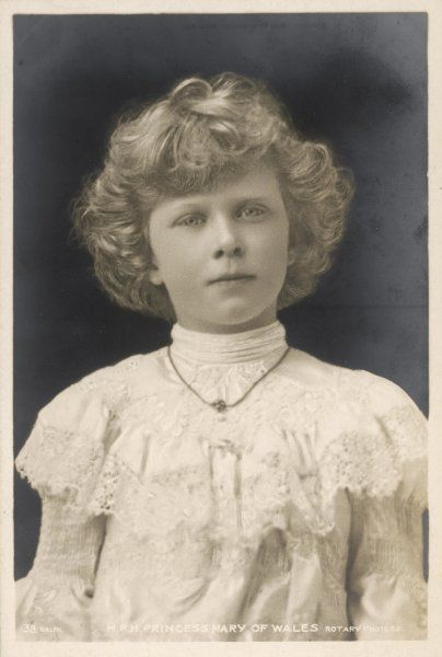 PRINCESS MARY later VISCOUNTESS LASCELLES as a child