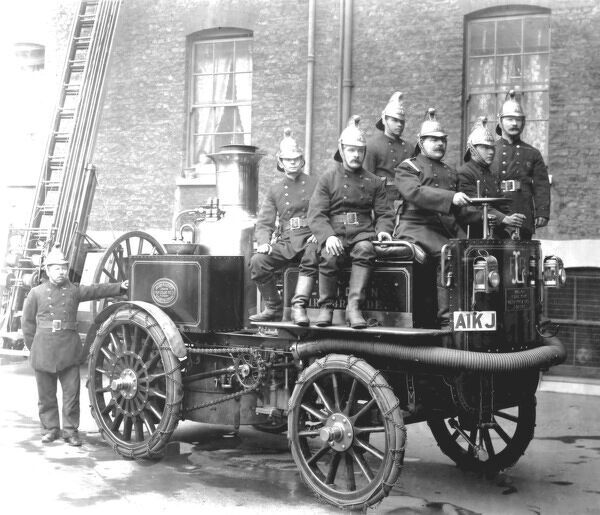 First introduced into the UK by Merryweather of Greenwich, SE London, in 1899, by 1907 twenty-one Fire Kings were in operational use around the country, including the London Fire Brigade