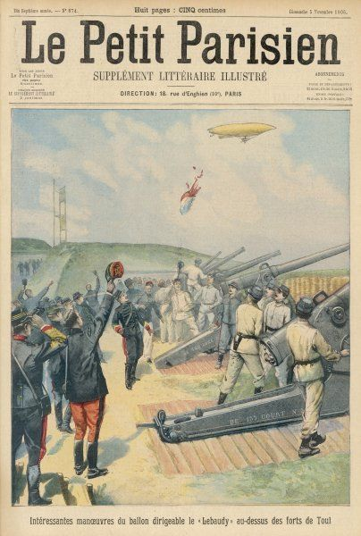 The 'Lebaudy' military airship
