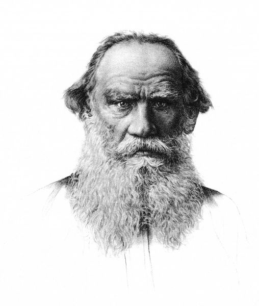 LEO TOLSTOY the Russian novelist in old age Date: 1828 - 1910
