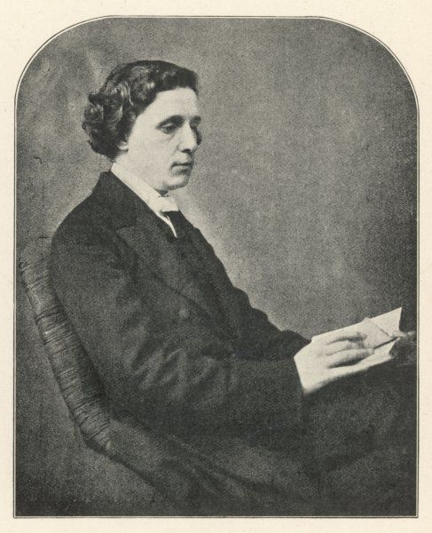 LEWIS CARROLL alias CHARLES LUTWIDGE DODGSON English mathematician, clergyman and writer - creator of 'Alice&#39