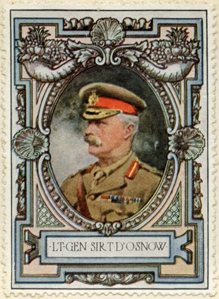 Lieutenant-General SIR THOMAS D'OYLY SNOW (1858 - 1940) British General in the First World War who commanded during some of the major battles of the Western Front. Nicknamed 'Slush' and 'Snowball&#39