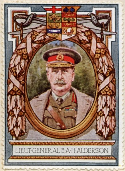 Lieutenant General SIR EDWIN ALFRED HERVEY ALDERSON (1859 - 1927) Senior British Army officer serving in several campaigns