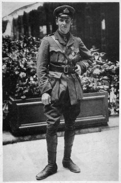 REX WARNEFORD Having heroically downed a Zeppelin in 1915, Warneford won the Victora Cross and Legion D'Honneur