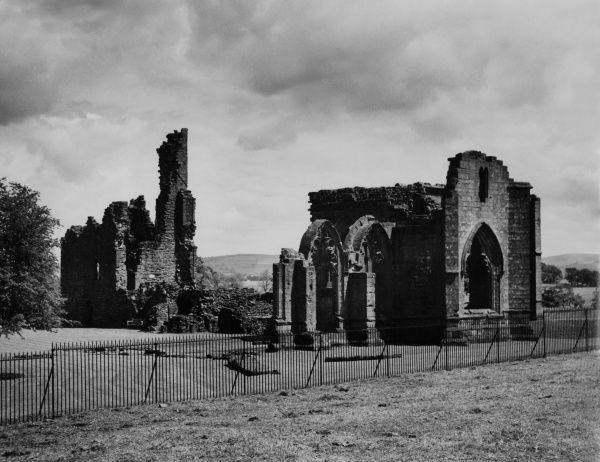 Lincluden Abbey, near Dumfries, Dumfries-shire, Scotland. Founded in 1164 and converted into a college for a prevost and prebendaries in the early 15th century. Date: founded 1164