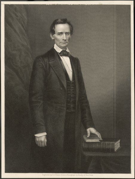 ABRAHAM LINCOLN U.S. President, early in his political career