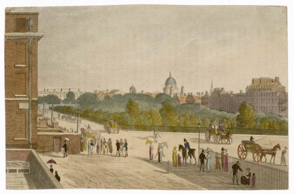A picturesque view of Lincolns Inn Fields and its surrounding area