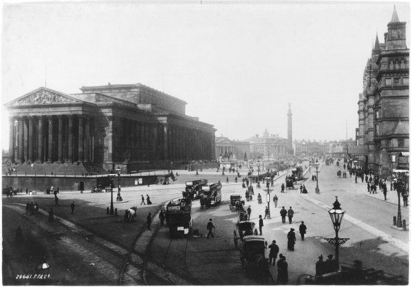 Central Liverpool, late 19th century