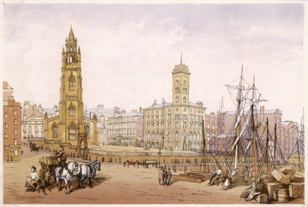 Liverpool: St Nicholas' Church and Telegraph Tower