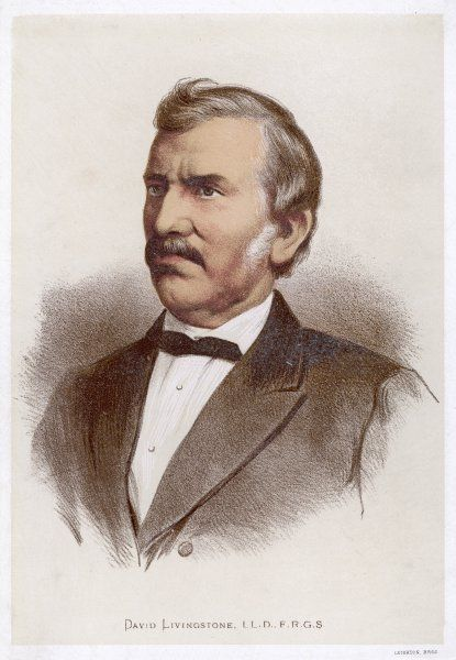 DAVID LIVINGSTONE Scottish missionary and traveller in Africa