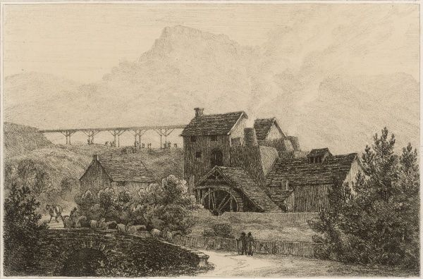 Llanelly Iron Works, Wales