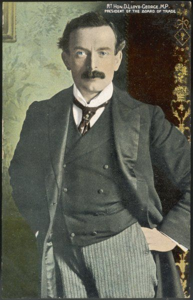 DAVID LLOYD GEORGE President of the Board of Trade