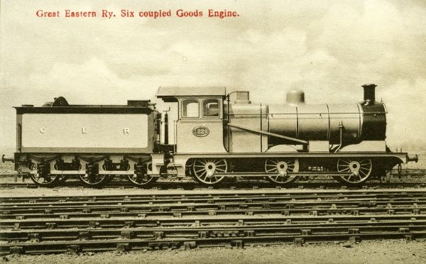 Locomotive no 1229 six coupled goods engine Date