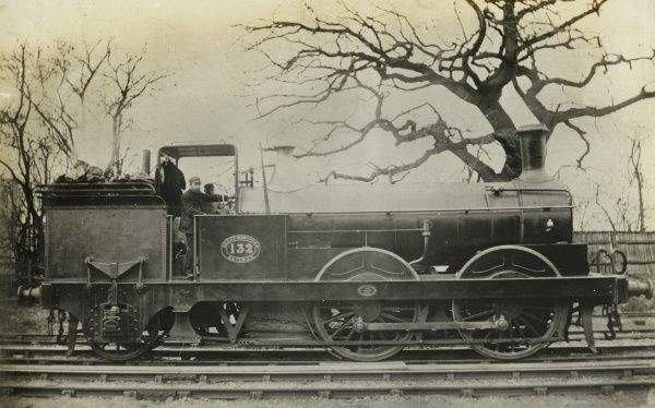 Locomotive no 132 0-4-2 engine Date