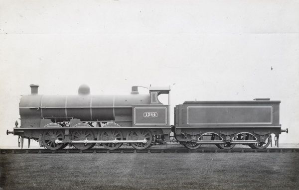 Locomotive no 1384 0-8-0 engine L&NWR Date
