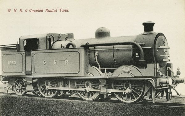 Locomotive no 1560 0-6-2T 6 coupled radial tank engine Date