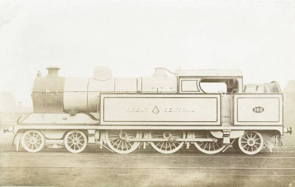 Locomotive no 165 4-6-2 tank engine Date