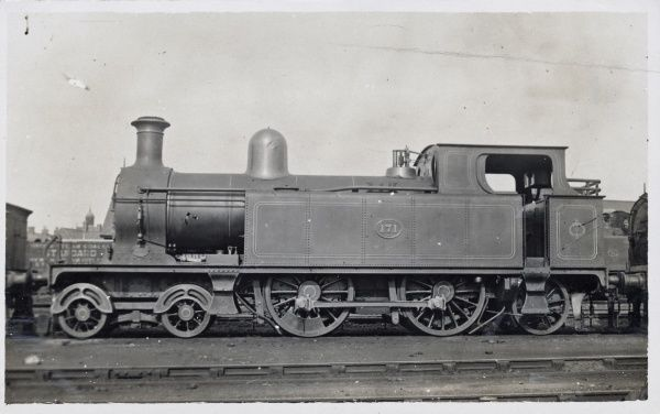 Locomotive no 171 4-4-2 Date