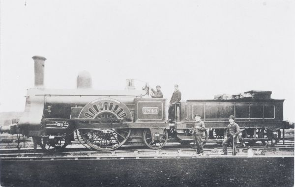Locomotive no 1840 'Pegasus' built in 1880 ? for the L&NWR Date: 1880