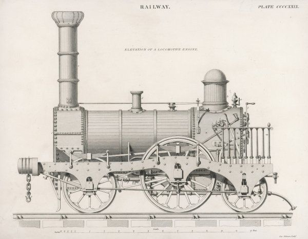 This fine locomotive is not an exact match of any other in our files, but it is very similar to the goods locomotives Mr Allan is building at Crewe, 1843+