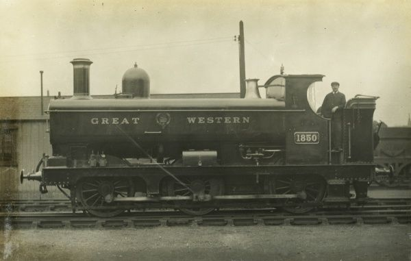 Locomotive no 1850 0-6-0 tank engine Date