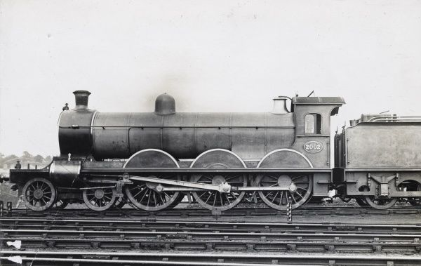 Locomotive no 2002 4-6-0 Date