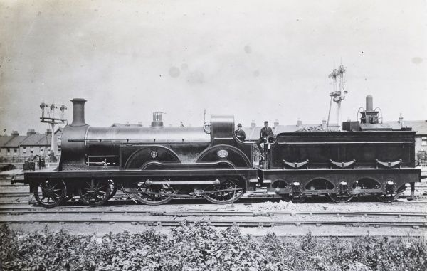 Locomotive no 206 4-4-0 Date