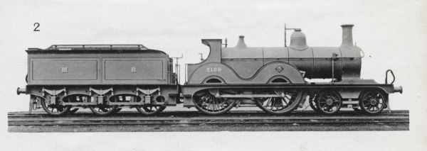 Locomotive no 2189 4-4-0 Date