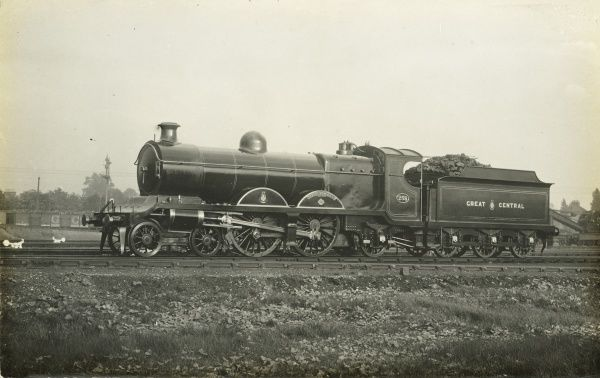 Locomotive no 258 'Viscount Cross' 4-4-2 engine Date