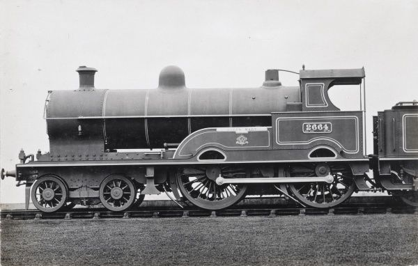 Locomotive no 2664 'Queen Mary' built in 1910 for the L&NWR Date: 1910