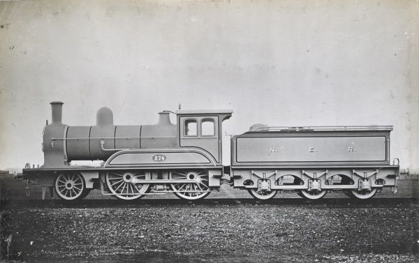 Locomotive no 274 2-4-0 Date