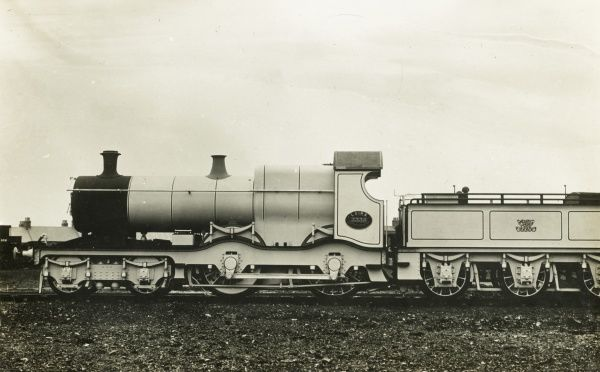 Locomotive no 3338 Laira Date