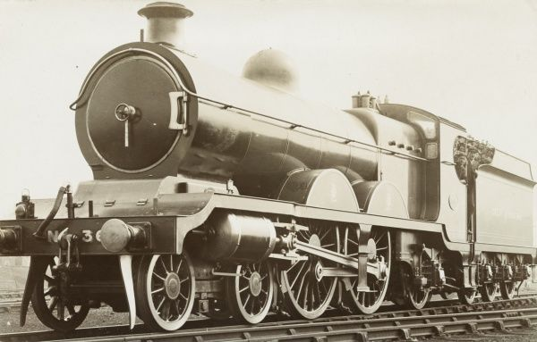Locomotive no 360 4-4-2 engine Date