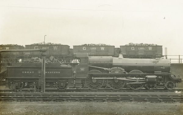 Locomotive no 40 North Star, side view Date