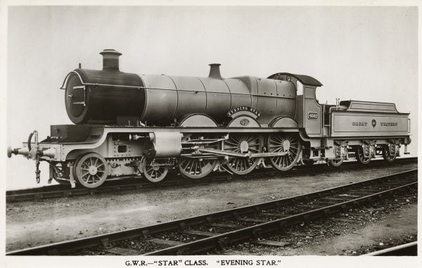 Locomotive no 4002 Evening Star 4-6-0 Date